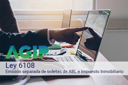 Ciudad de Buenos Aires  – Ley 6108