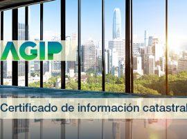AGIP: Certificado de información catastral CABA