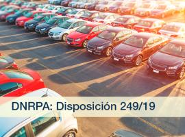 DNRPA: Disposición 249/19