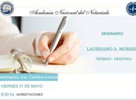 Seminario Teórico Práctico Laureano A. Moreira