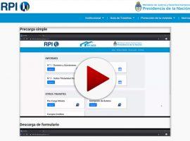 Videos tutoriales de la precarga de documentos de origen notarial