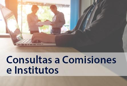 Nuevo sistema de consultas a Comisiones e Institutos del Colegio