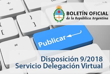Presentación digital de trámites ante el Boletín Oficial