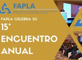 FAPLA: 15º Encuentro Anual sobre Prevención del Lavado de Activos y Financiación del Terrorismo