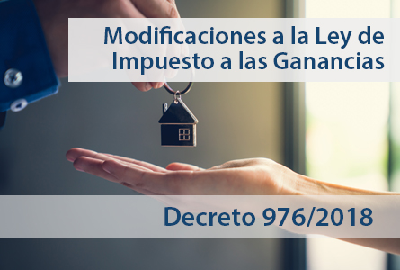 Importante – Decreto 976/2018