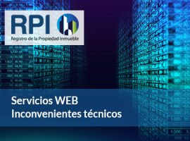 RPI de Capital Federal: Interrupción del servicio web
