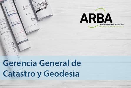 Gerencia General de Catastro y Geodesia de ARBA