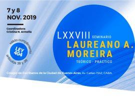 LXXVIII Seminario Laureano A. Moreira